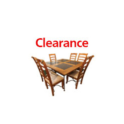 Columbus Dining Table & 6 Chairs Detail Page