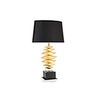 Move table lamp gold finish