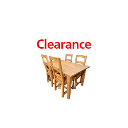 New Mexico Dining Table & 4 Chairs Detail Page