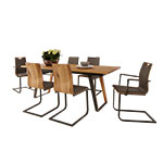 Gwinner Nola Fixed Top Dining Table