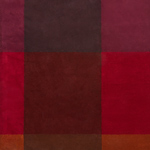 Ted Baker Plaid Burgundy Rug 57805 Detail Page