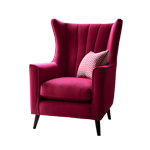 Pimlico Shoreditch Wing Chair Detail Page