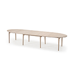 Skovby #78 Ellipse Table