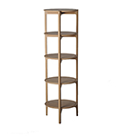 Svelto open shelving unit