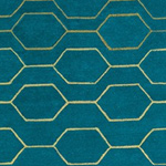 Wedgwood Arris Teal Rug 37307 Detail Page