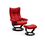 Stressless Wing Chair & Stool - Small