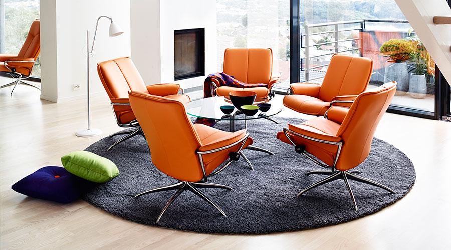 stressless city low back. Black Bedroom Furniture Sets. Home Design Ideas