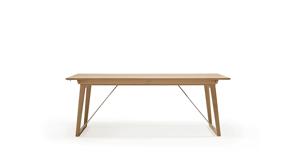 Exclusive oslo walnut extending dining table skovby 13 for Exclusive dining table
