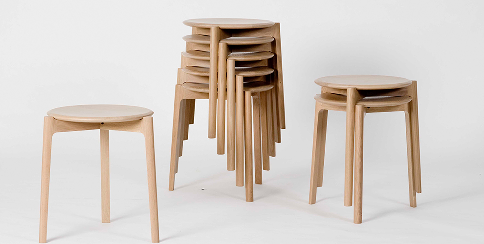 Svelto stacking stool
