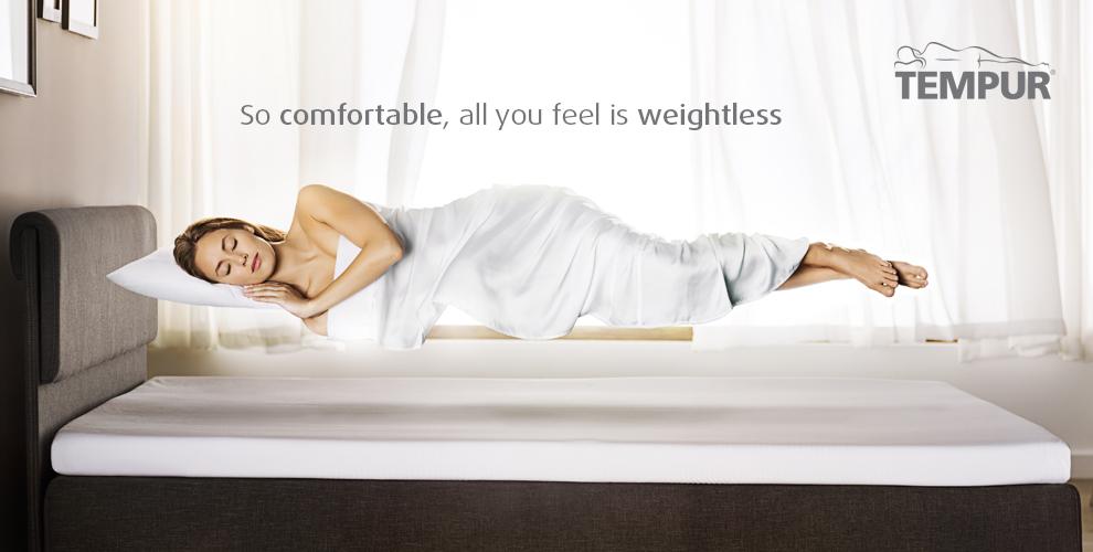 Tempur temperature mattress and pillow for Bedroom temperature