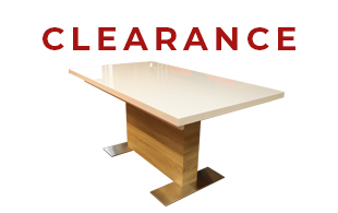 Bright Extendable Dining Table (White Lacquer/Oak) detail page