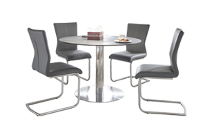 Coda Dining Table with 4 Chairs detail page