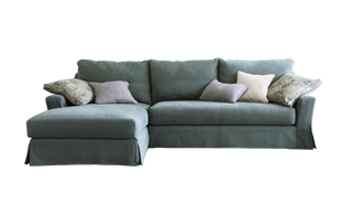 Collins & Hayes Radley Chaise Sofa detail page