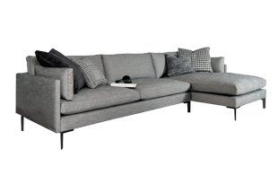 Duresta Soho Chaise Sofa detail page