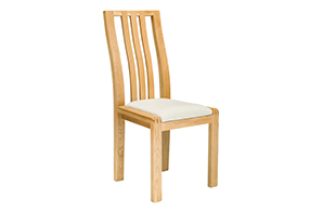Ercol 1383C Bosco Dining Chair (cream fabric) detail page