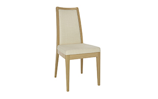 Ercol 2644 Romana Padded Back Dining Chair detail page