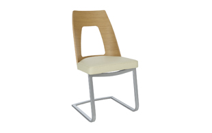 Ercol 2645 Cantilevered Dining Chair detail page