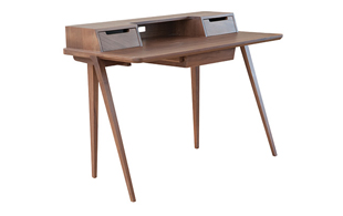Ercol 2335 Treviso Desk (Walnut) detail page