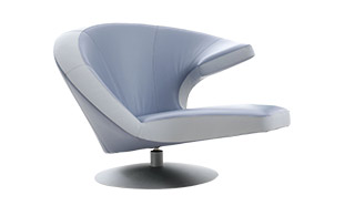Leolux Parabolica Swivel Chair detail page