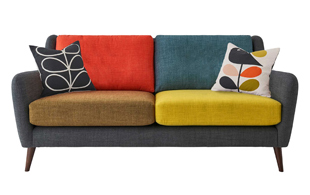 Orla Kiely Fern Large Sofa detail page