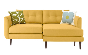 Orla Kiely Linden Large Chaise Sofa (RHF) detail page