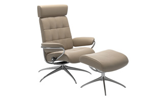 Stressless London with Adjustable Headrest detail page