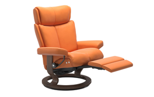 Stressless Magic Power Recliner detail page