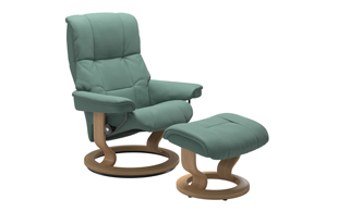 Stressless Mayfair with Classic Base Chair & Stool detail page