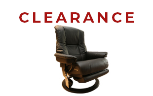 Stressless Mayfair Medium Chair with Leg Comfort detail page