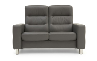 Stressless Wave High Back Sofa detail page