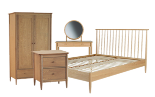 Ercol Teramo Bedroom furniture detail page