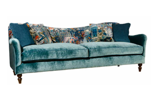 Spink & Edgar Tiffany Sofa detail page