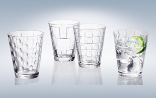 Villeroy & Boch Dressed Up Water Glasses 4pcs detail page