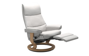 Stressless View Power Recliner detail page