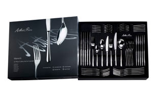 Arthur Price, Warwick 42 PCS Cutlery set detail page
