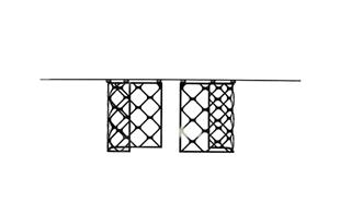 Trellis Dining Table detail page