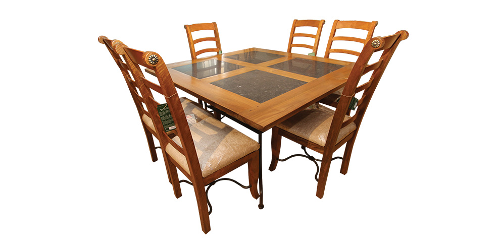 Fantastic Columbus Dining Table 6 Chairs Hopewells Cjindustries Chair Design For Home Cjindustriesco