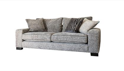 Fabric sofas from Hopewells