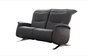 Himolla Cygnet wide 2 seat reclining sofa detail page