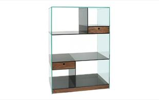Frame Glass Shelving unit detail page