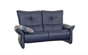 Himolla Brent reclining 3 seat sofa detail page