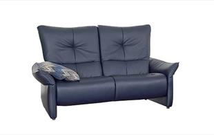 Himolla Brent reclining wide 2 seat sofa detail page