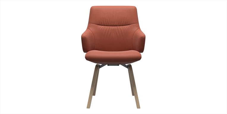 Stressless Mint Low Back Dining Chair With Arms