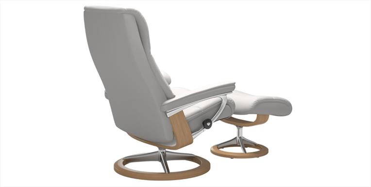Stressless View With Signature Base Chair Stool Hopewells