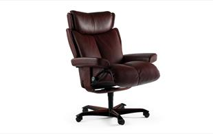 Stressless Magic Office Chair detail page